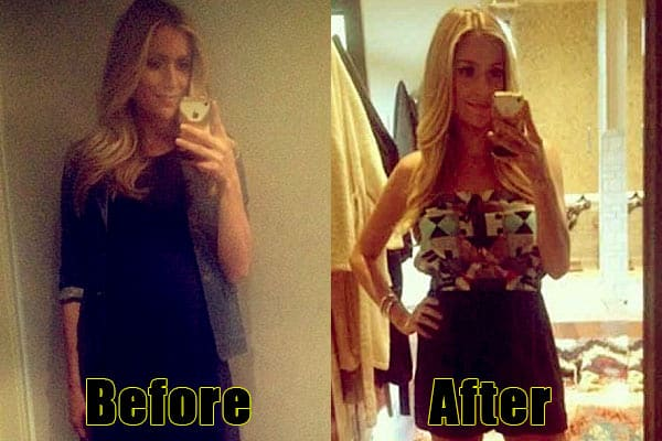 Image of Caption: Kristin Cavallari weight loss before and after