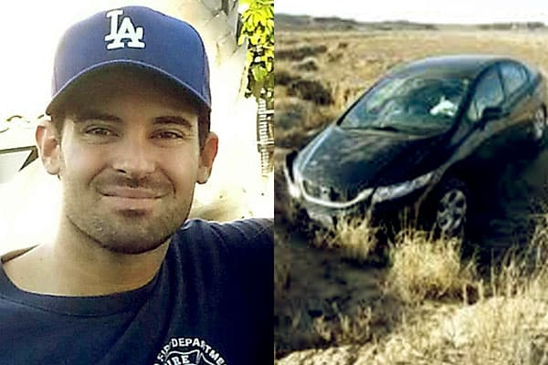 Image of Caption: Michael Cavallari death was attributed to hypothermia after he crashed in freezing temperatures and was ruled an accident