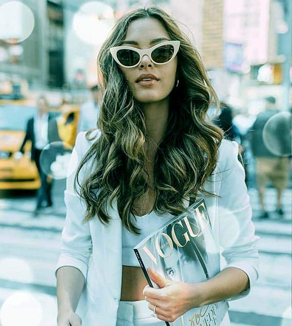 Image of Caption: South African model, Demi-Leigh Nel-Peters