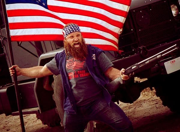 Image of Diesel Dave from TV the show, The Diesel Brothers