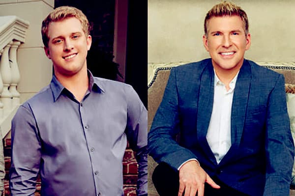 Image of Kyle Chrisley and his father Todd Chrisley