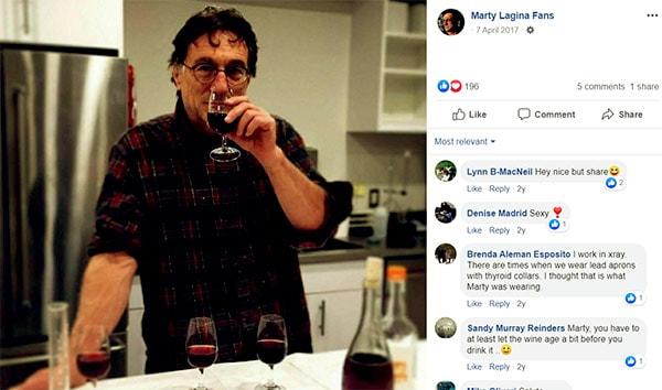 Image of Caption: Marty Lagina wine business.