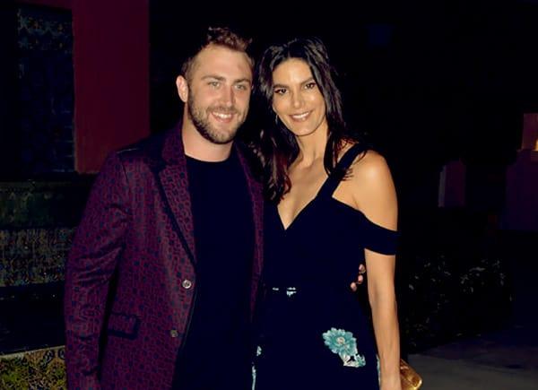Image of Caption: Jordan McGraw with his partner Ragan Wallake
