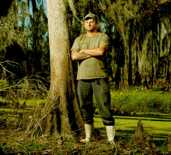Image of Caption: Swamp People cast Randy Edwards die due to car accident