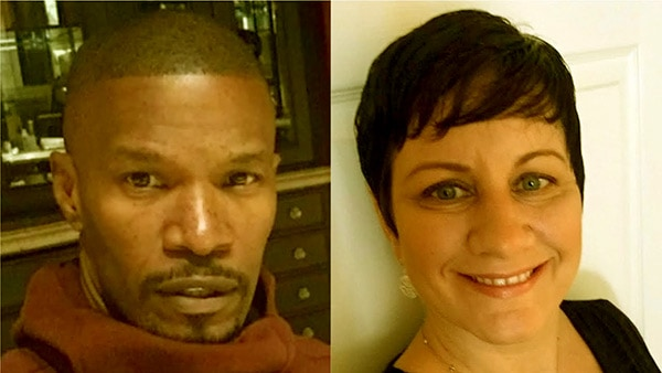 Image of Caption: Connie Kline and her ex-husband Jamie Foxx