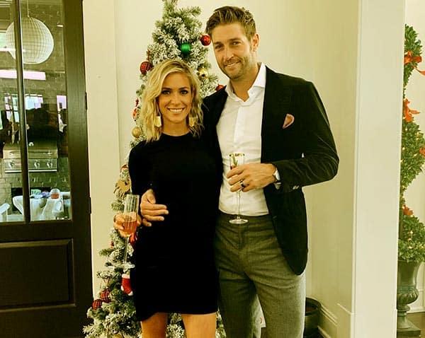 Image of Caption: Kristin Cavallari with her husband Jay Cutler