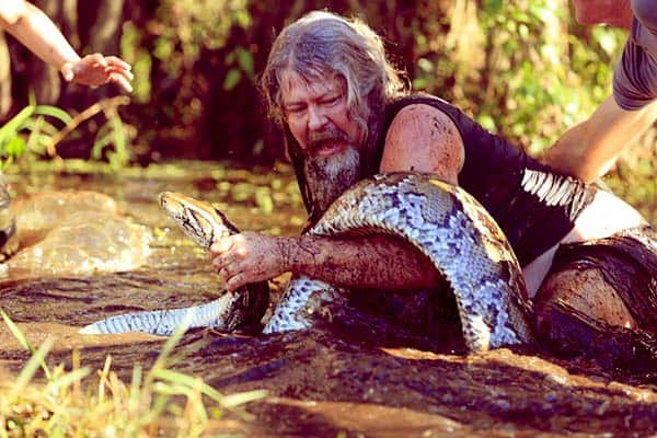 Image of Caption: Snake hunter and Conservationist, Dusty Crum