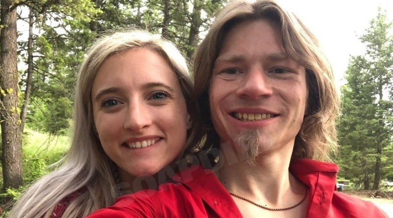 Image of Alaskan Bush People Bear Brown and his Ex-girlfriend
