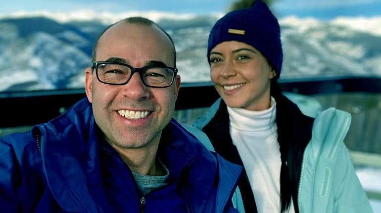 Image of James Murray is Now Engaged to Fiancé Melyssa Davies ending the gay rumor.
