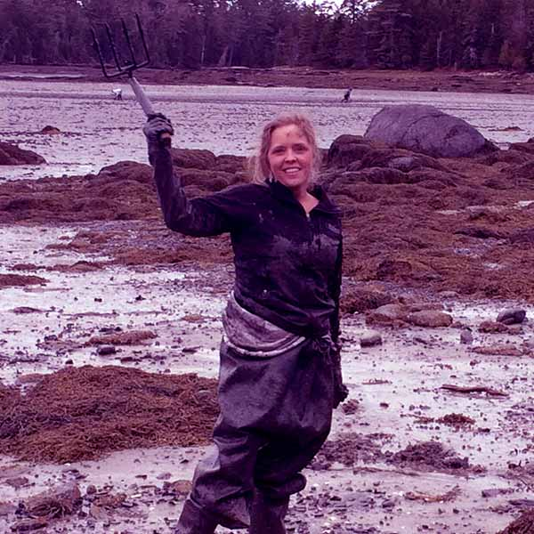 Image of Caption: Maine Cabin Masters cast Ashley Morrill