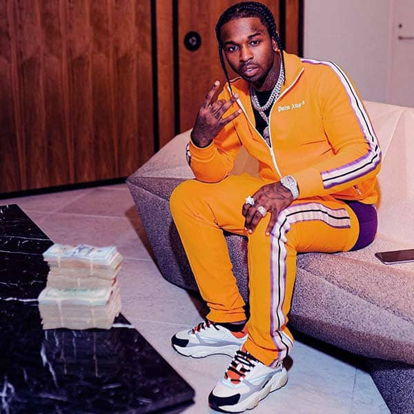 Image of Caption: Rapper, Pop Smoke died on February 19, 2020