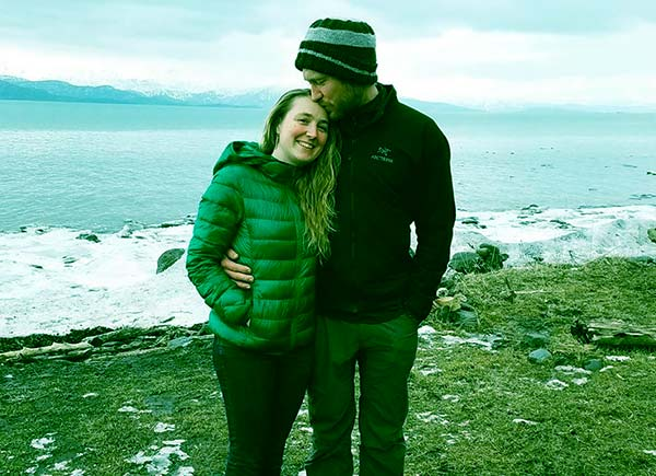 Image of Caption: Eivin Kilcher with his wife Eve Kilcher