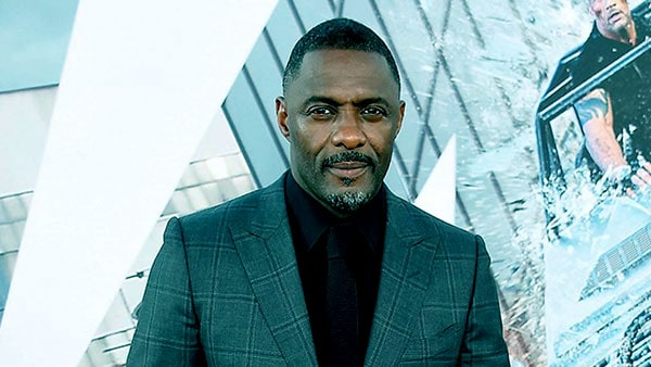 Image of Caption: Actor Idris Elba tested positive for Corona Virus.