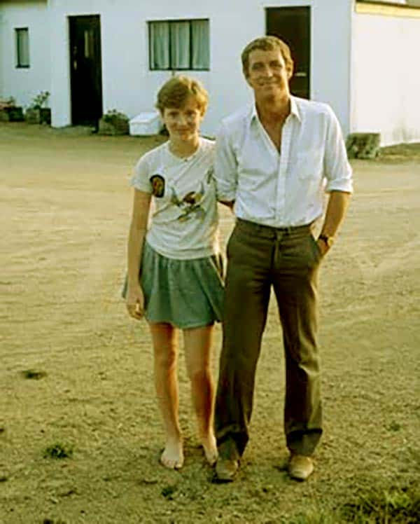 Image of John Nettle with his daughter