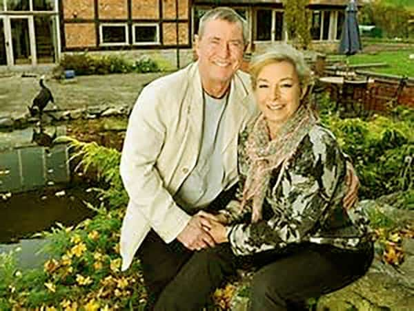 Image of John Nettles with his wife Cathryn Sealey
