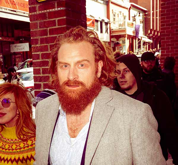 Image of Caption: Norwegian actor Kristofer Hivju tested positive for Corona Virus.