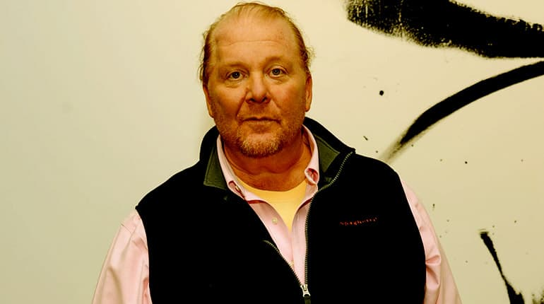 Image of Mario Batali net worth 2020.