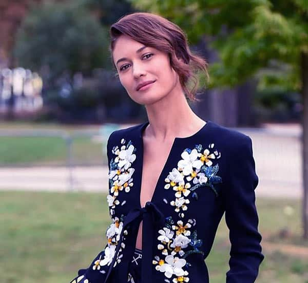 Image of Caption: French-Ukrainian actress Olga Kurylenko tested positive for Corona Virus.