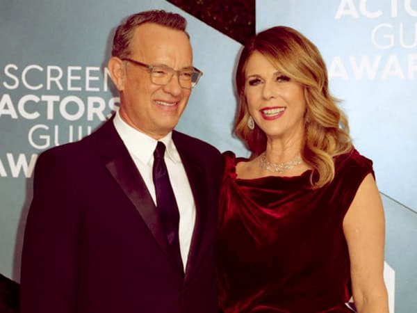 Image of Caption: Actor Tom Hanks and his wife tested positive for Corona Virus.