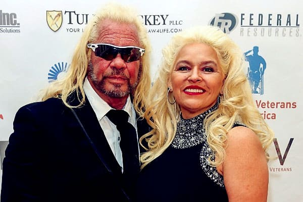 Image of Caption: Duane Chapman with his wife Beth Smith