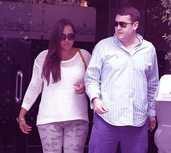 Image of Caption: Sydney Brooke Simpson with her boyfriend Robert Blackmon