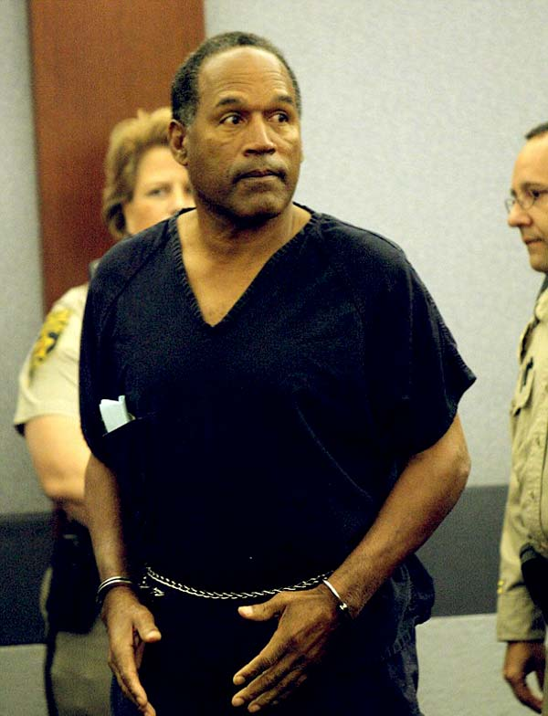 Image of Caption: Sydney Simpson father OJ Simpson got arrested for kidnapping, armed robbery, and assault back in 2011.