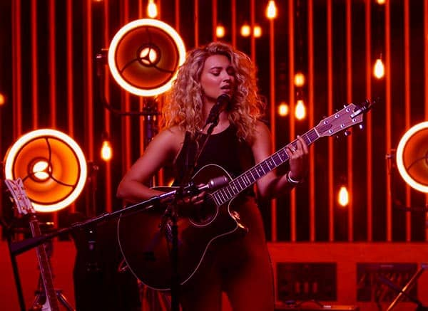 Image of Caption: American singer, Tori Kelly