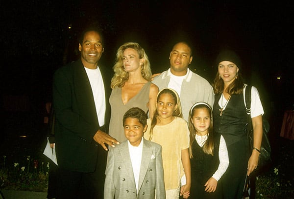 Image of Caption: Sydney Brooke Simpson with her family