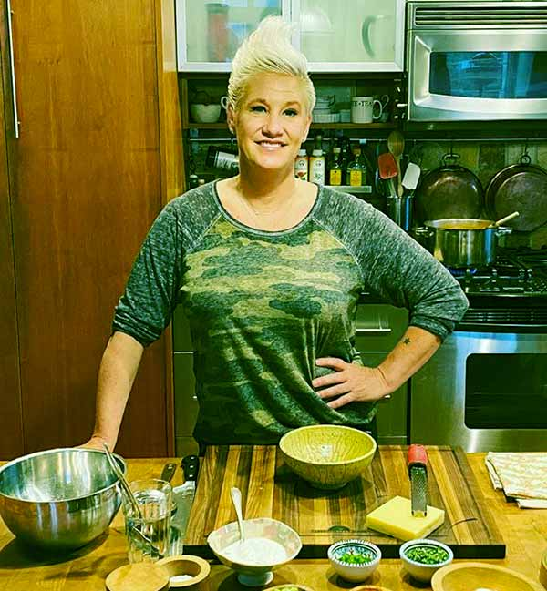 Image of Celebrity chef, Anne Burrell