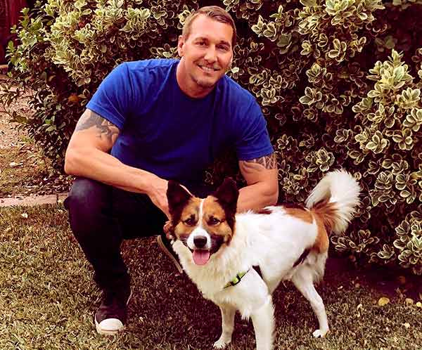 Image of Brandon McMillan from the TV show, Lucky Dog