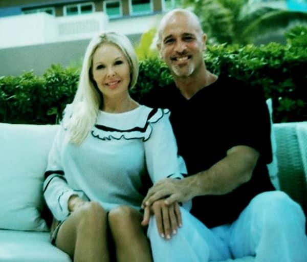 Image of Brett Raymer with his girlfriend Trisha Chamberlain