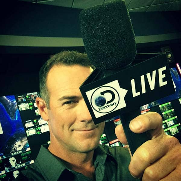 Image of Television presenter, Chris Jacobs
