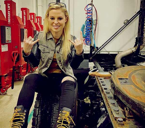 Image of All Girls Garage Cast Cristy Lee.