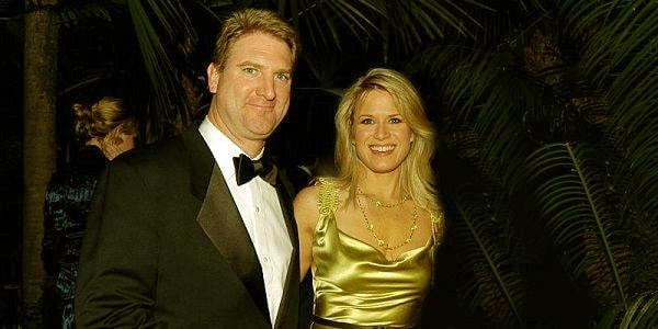 Image of Daniel John Gregory with his wife Martha MacCallum