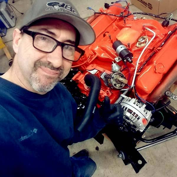 Image of Dave Rea from the TV show, Graveyard Carz