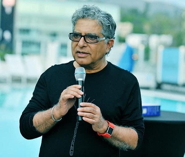Image of American-Indian author, Deepak Chopra