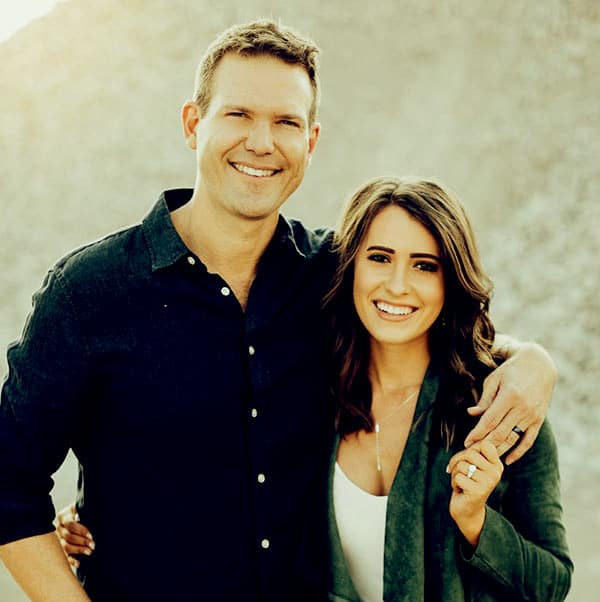 Image of Dr. Travis Stork with his wife Parris Stork