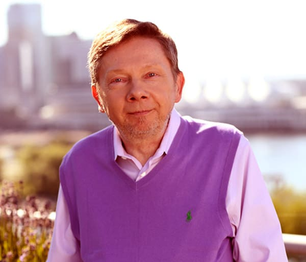 Image of Self-help guru, Eckhart Tolle net worth