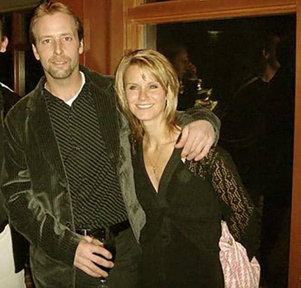 Image of Edgar Hansen with his wife Louise Hansen