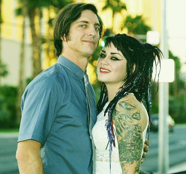 Image of Faye Hadley with her husband Brandon Hadley
