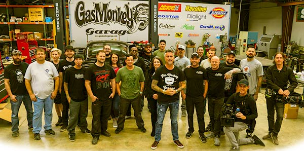 Image of Gas monkey Garage team
