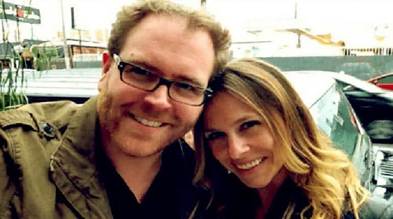 Image of Josh Gates Wife Hallie Gnatovich, Children, Divorce, Facts.