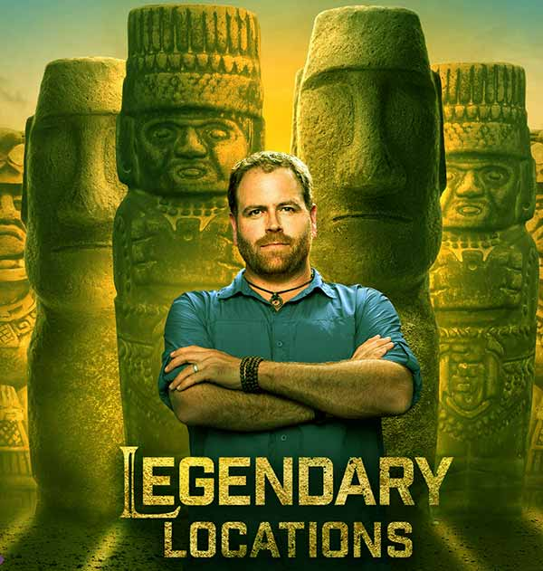 Image of Josh Gates from the TV show, Legendary Locations
