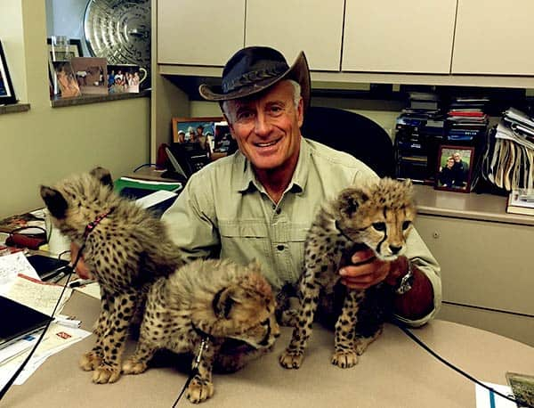 Image of Zookeeper, Jack Hanna is still alive fit and healthy
