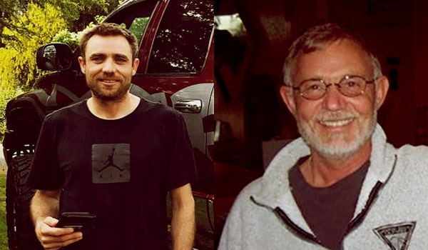 Image of Jake Anderson and his father Keith Anderson