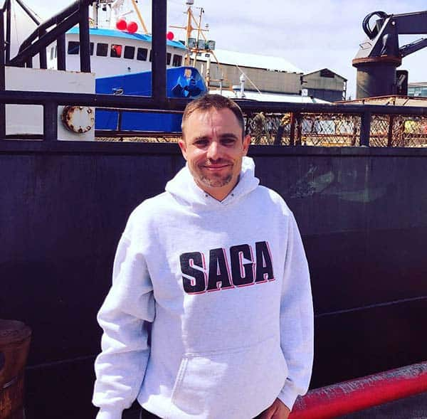 Image of Jake Anderson from the TV show, Deadliest Catch