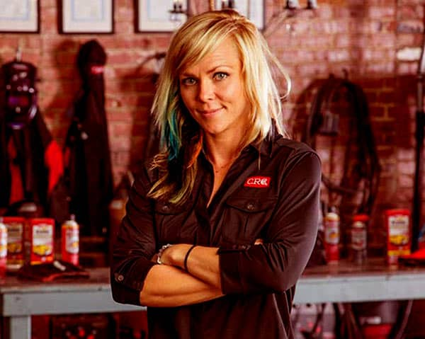 Image of All Girls Garage Cast Jessi Combs.
