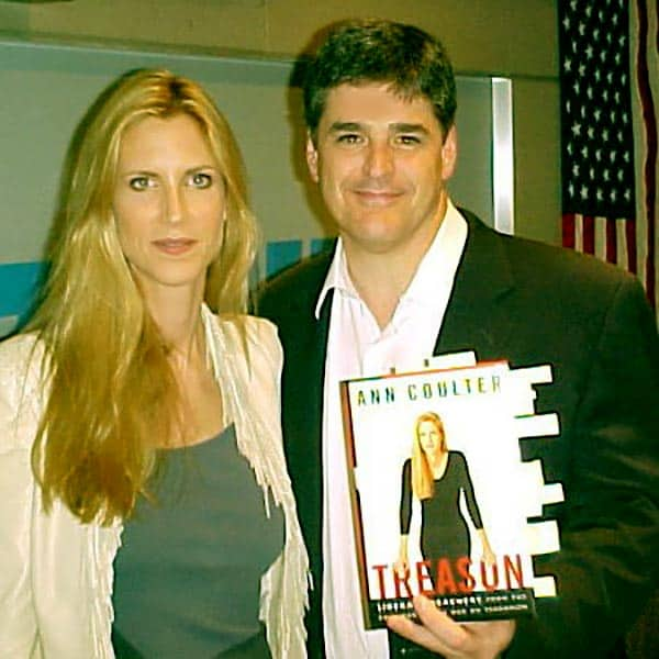 Image of Jill Rhodes with her husband Sean Hannity