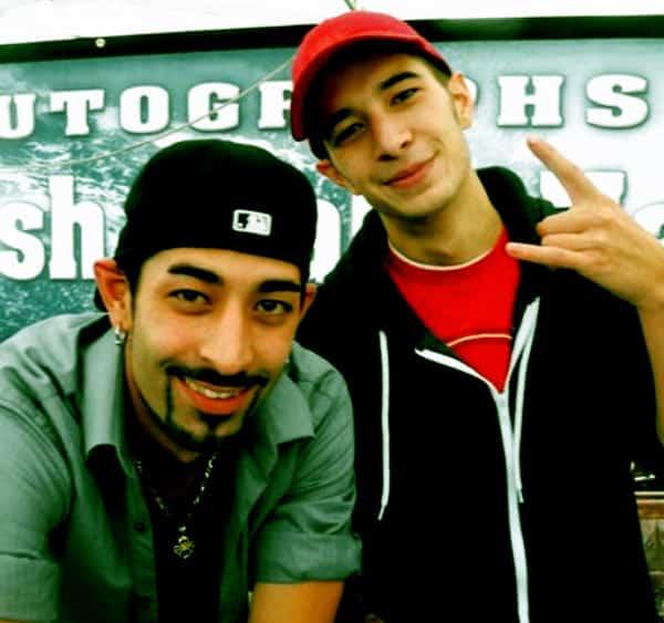 Image of Josh Harris with his brother Jake Harris