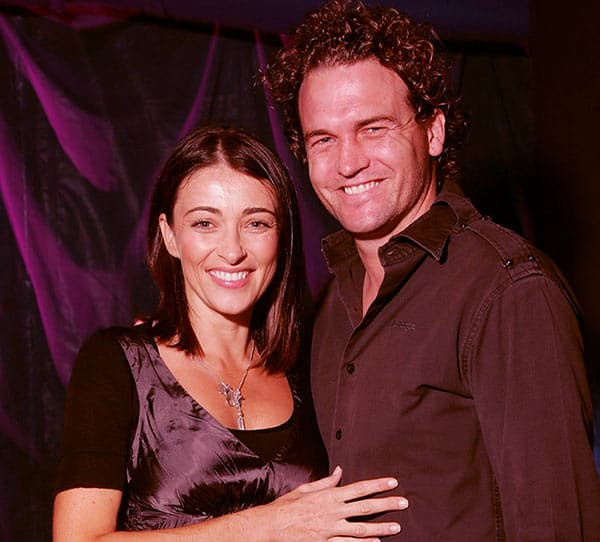 Image of Katrina Warren with her husband Anthony Darcy